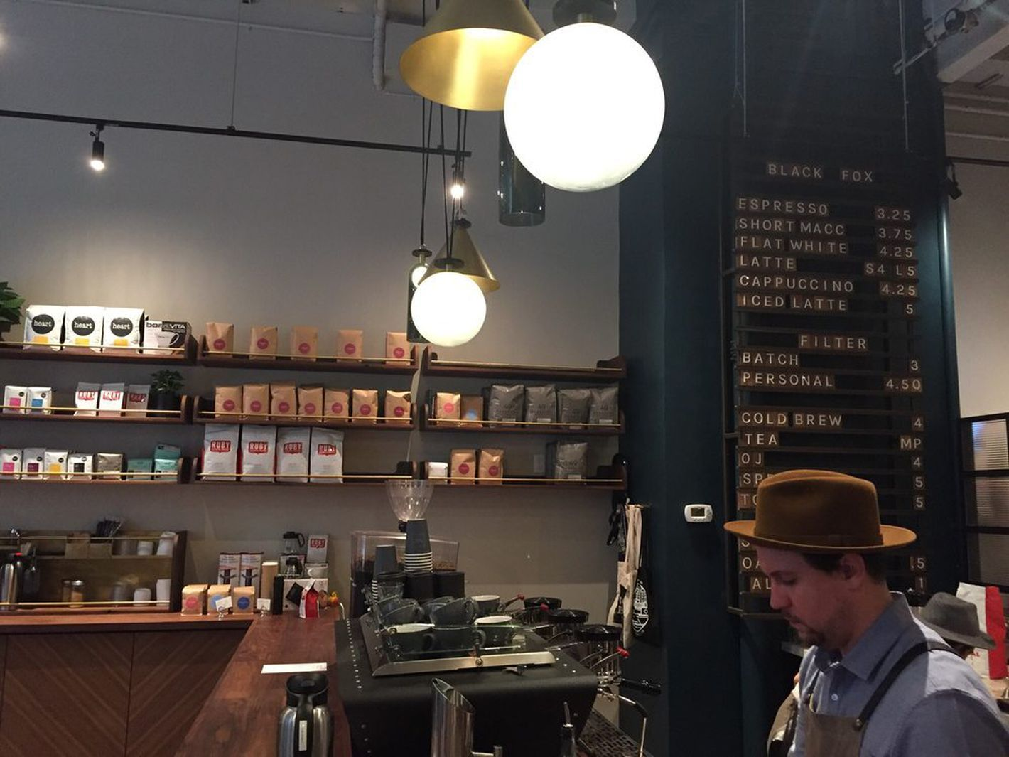 black fox coffee pine street