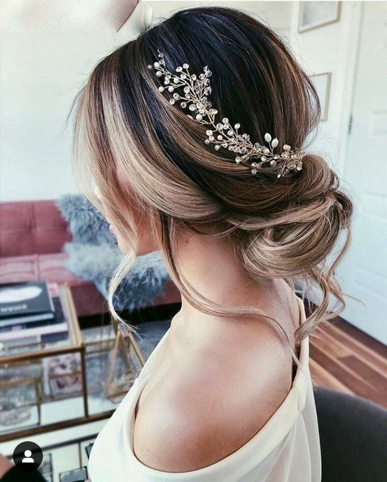 Wedding Hair vine Bridal Hair Vine Bridal hair piece Wedding | Etsy