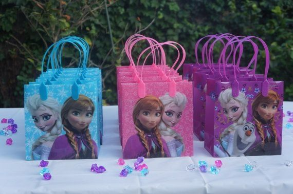 Frozen Elsa Anna Birthday Licensed Party Favors Goodie Gift Candy Loot Bags