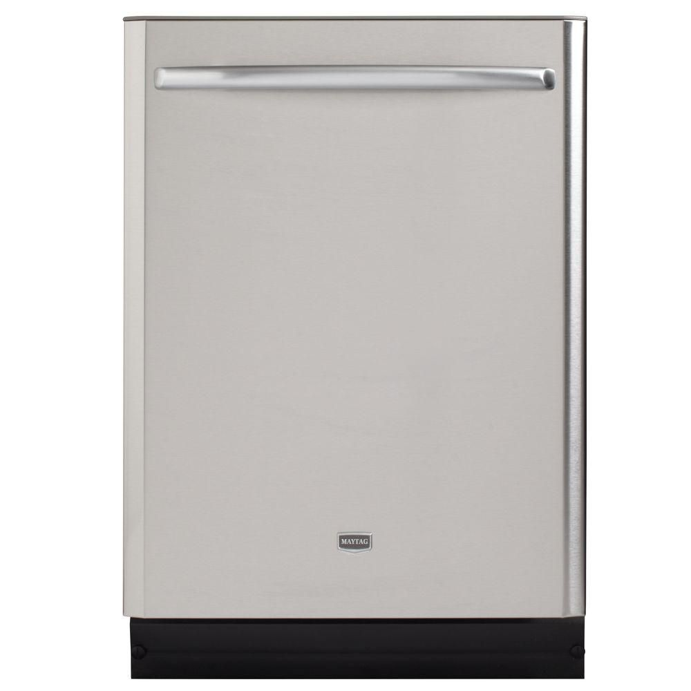 Maytag Jetclean Plus Top Control Dishwasher In Stainless Steel With Stainless Steel Tub And Steam Cleanin Steel Tub Top Control Dishwasher House Design Kitchen