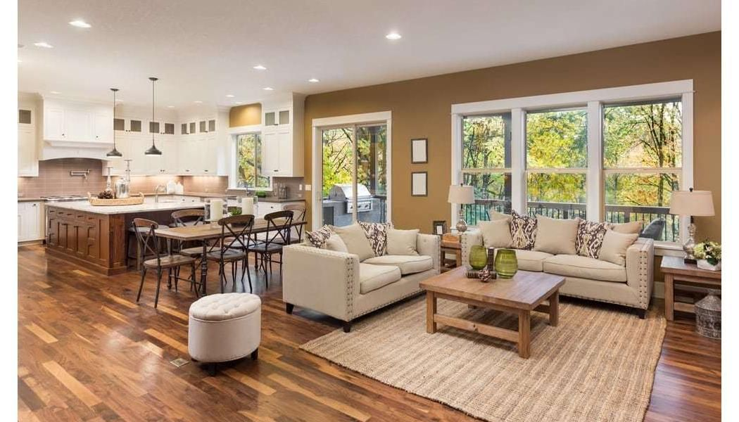 How To Keep Your Floor Protected During A Renovation Project Open Concept Kitchen Living Room Open Concept Living Room Living Room Floor Plans