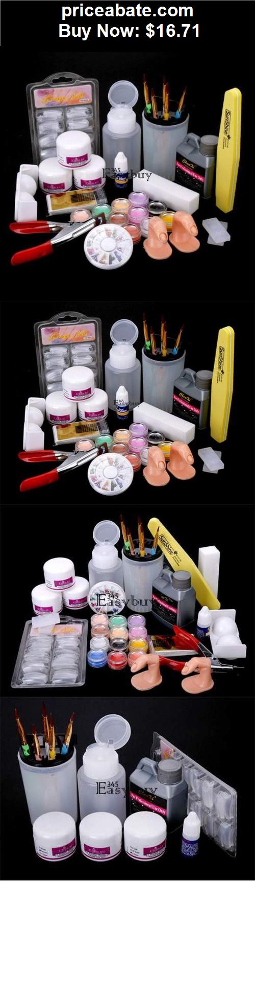 nails: Acrylic Powder Liquid Brush Glitter Clipper Primer File Nail ...