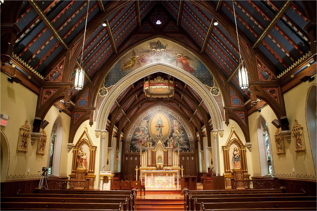 Chapel of the Immaculate Conception at Seton Hall University (South ...