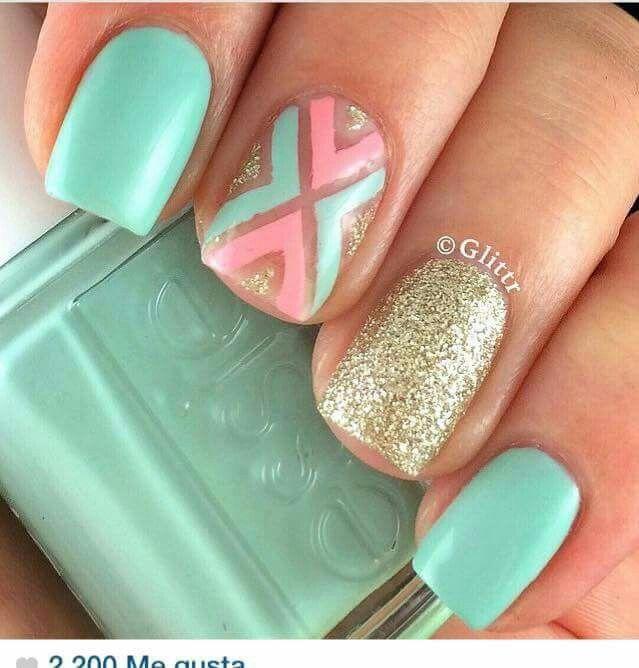 Nails/ spring nails summer nails | Ногти | Pinterest | Diseños de ...