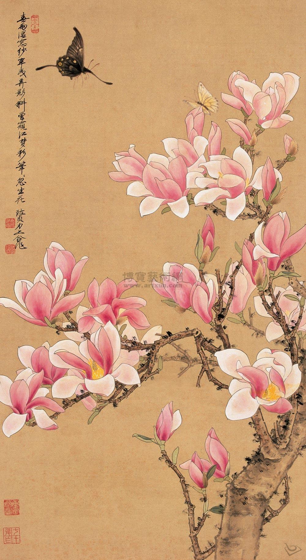 Pin By Maya Yakovenko On Chinese Art Blossoms Art Flower Art Japanese Painting