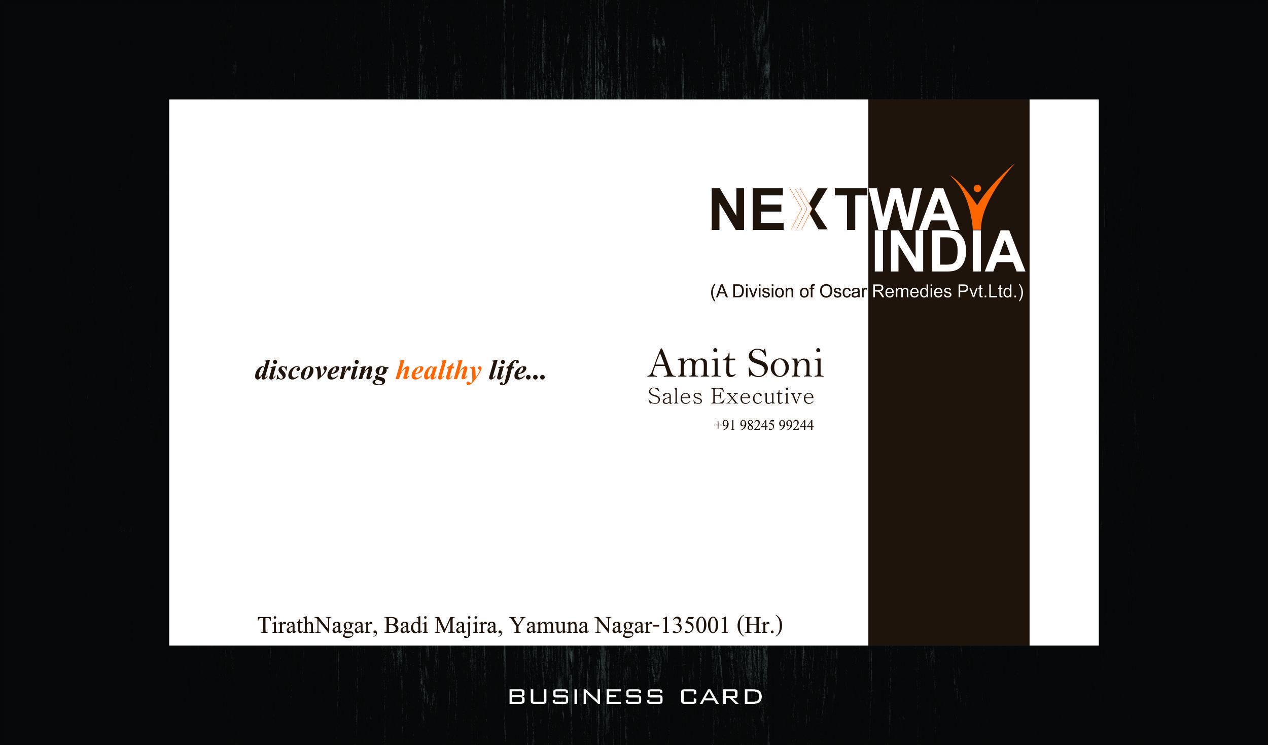 Next way indiav card business card design pinterest business next way indiav card reheart Images