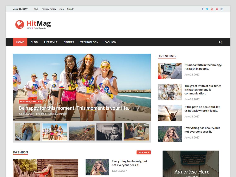 Download Free HitMag WordPress theme | Best Free Wordpress themes
