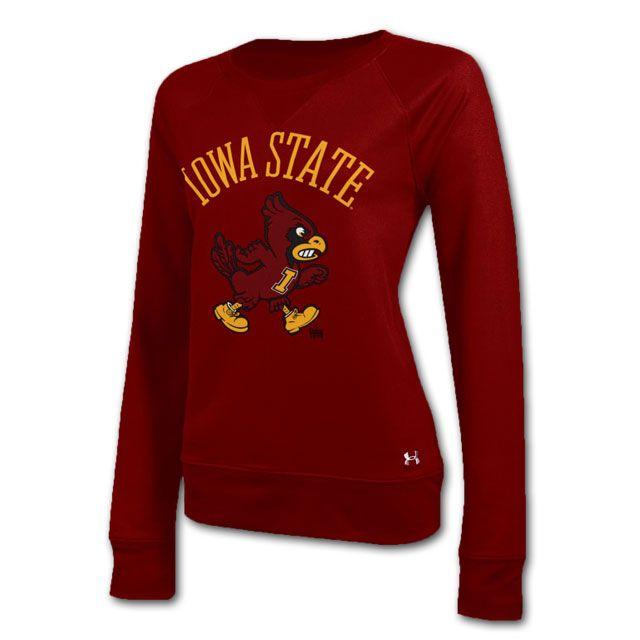 Under Armour® Women's Crewneck Sweatshirt - 2023989   Iowa State ...