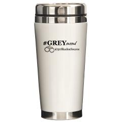 #GREYsessed @50ShadesSource Ceramic Travel Mug www.cafepress.com/50ShadesSource