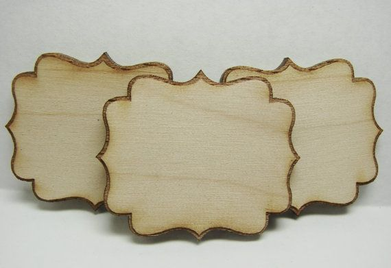 Wood Cut Out Blanks-Wooden Shape Cut Out-Craft Shape-Paintable Wood ...