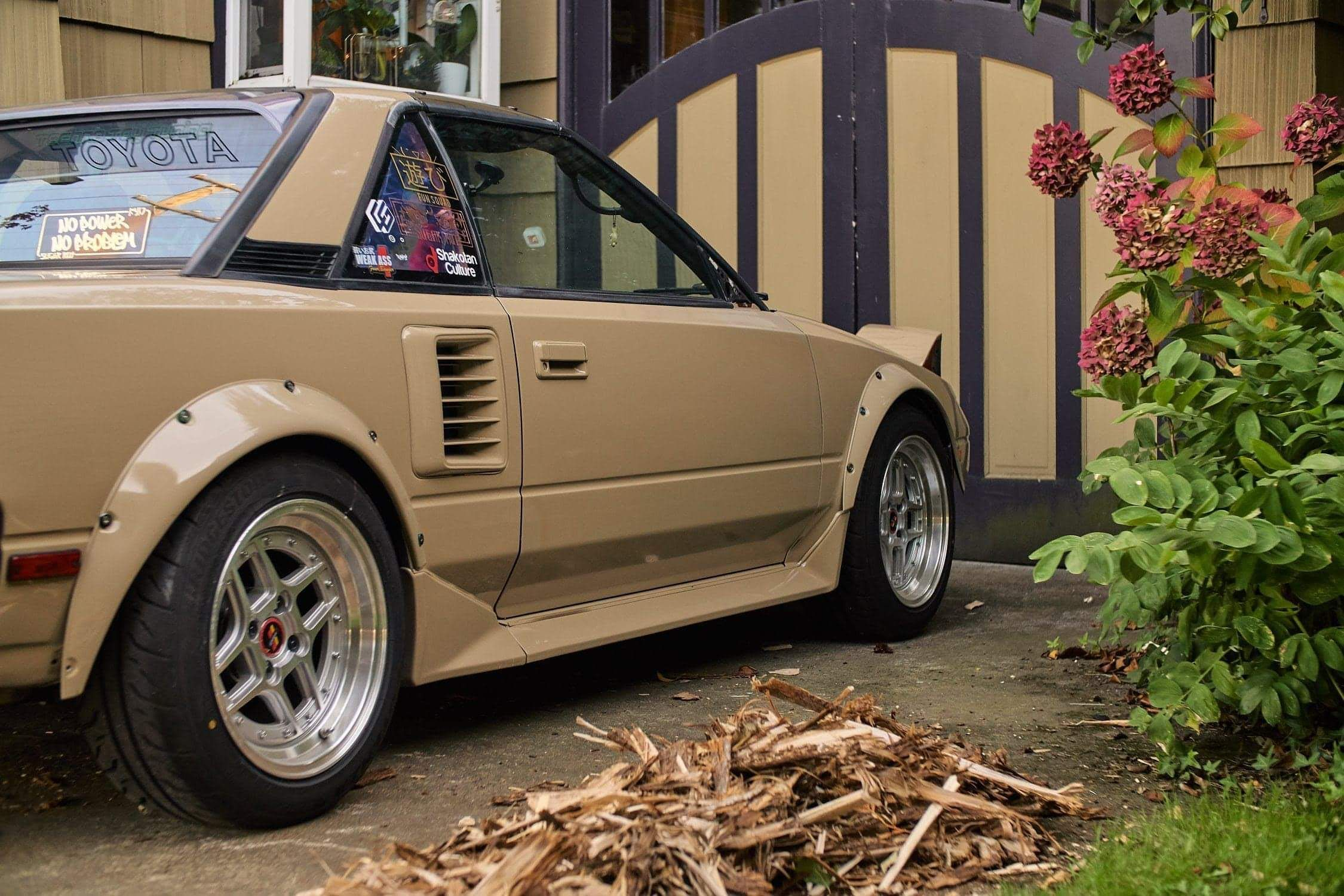 Quicksand Tan Aw11 Mr2 In 2020 Japan Cars Toyota Mr2 Bmw Classic Cars