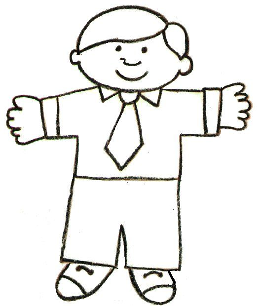 Flat Stanley Template and Letter – Flat Stanley Template