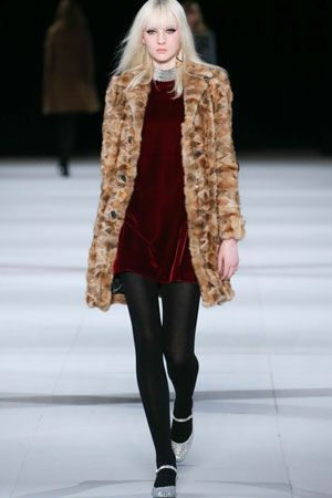 Fall Trend: Fur Designer: Saint Laurent