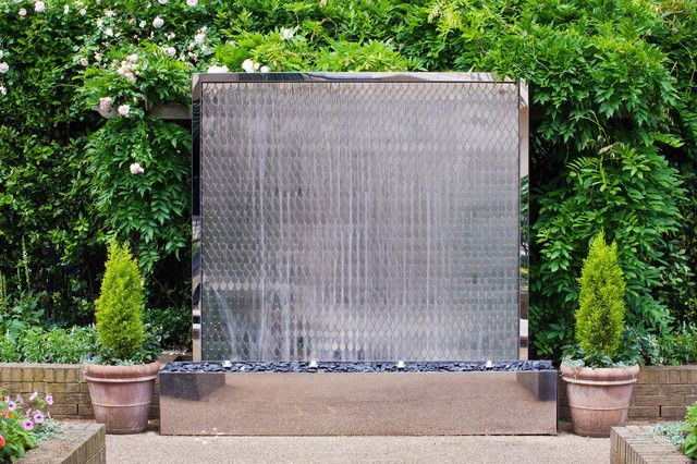 Fascinating outdoor garden wall fountains design ideas for Pinterest outdoor garden rooms
