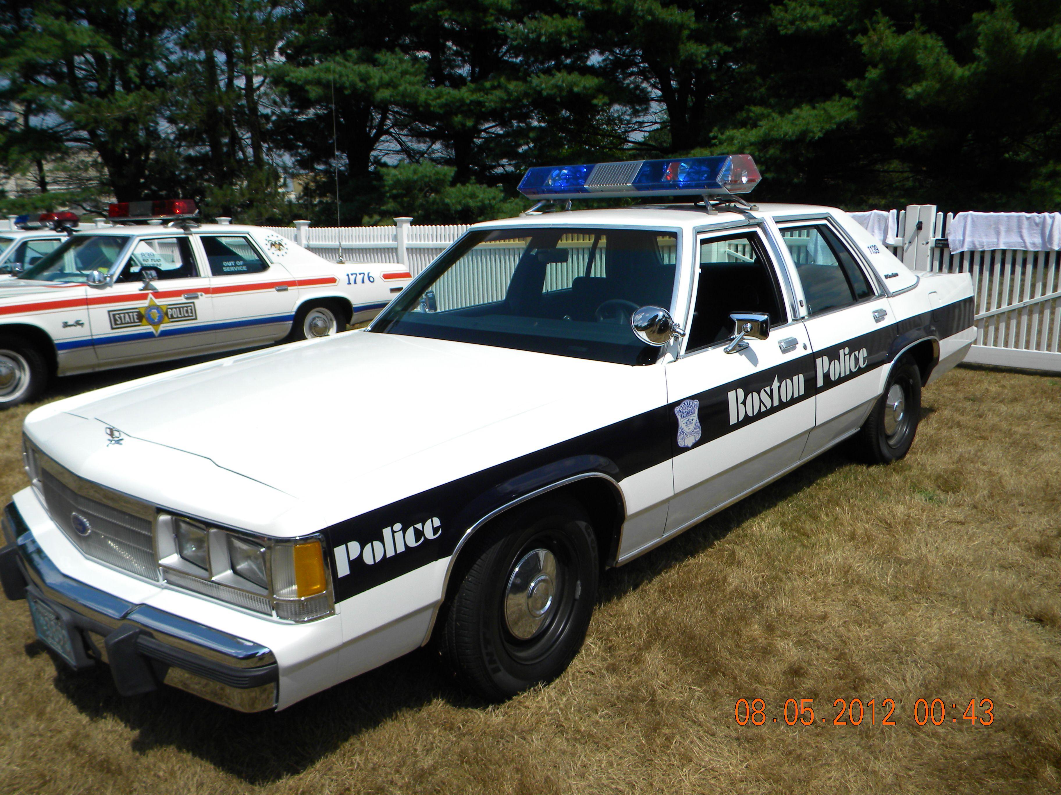 Old Style #Boston Police Car- #Massachusetts | Auto Insurance ...