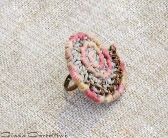 Crochet de ringethnic de Nautilus par GiadaCortellini