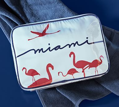 FLAMINGO~Miami Ultimate Cosmetic Bag #potterybarn