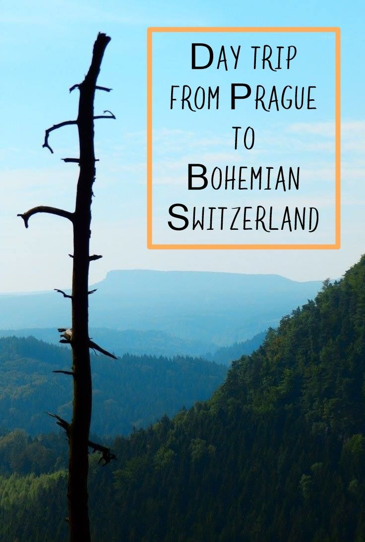 Bohemian Switzerland is one of the most beautiful places in Czech Republic. It is home to the biggest natural rock arch in Europe, called Pravcece, and it is situated right at the border with Germany, separated by the Elbe river.