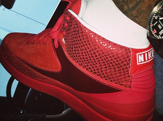 online store 3adae 6fabe Carmelo Anthony Shows Off His Air Jordan II