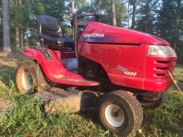 Dyt 4000 Engine : Craftsman dyt quot riding lawnmower loganville