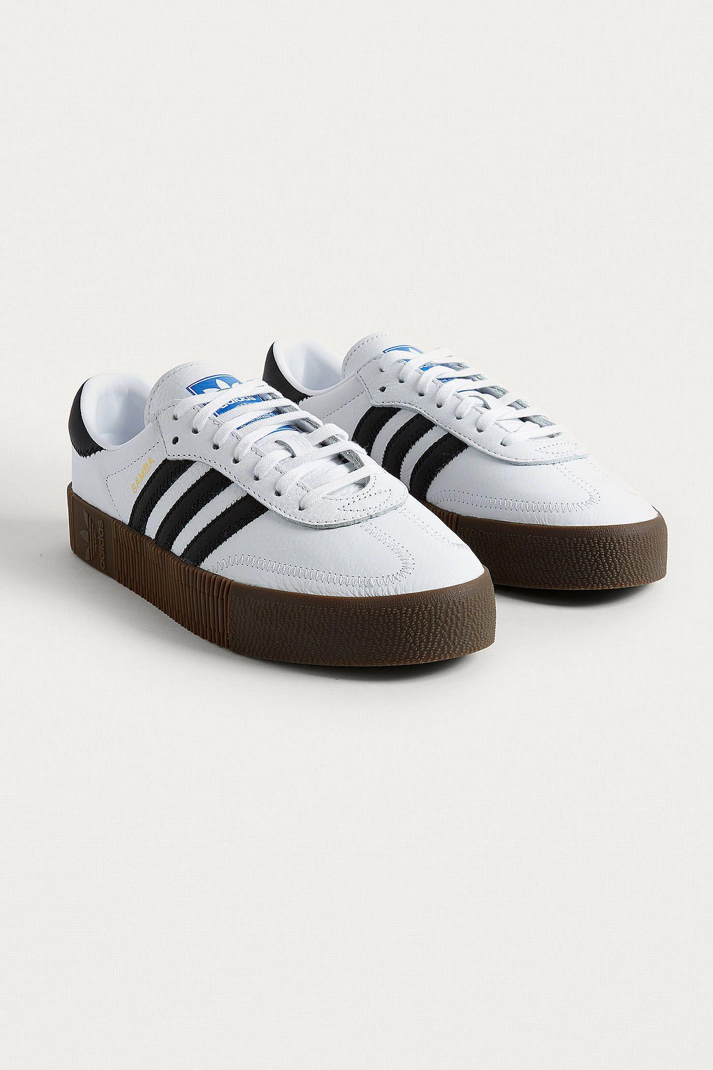 5c3b286523cb adidas Originals Samba Rose White Trainers