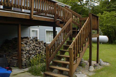 Deck Stairs Ideas | Deck Stairs