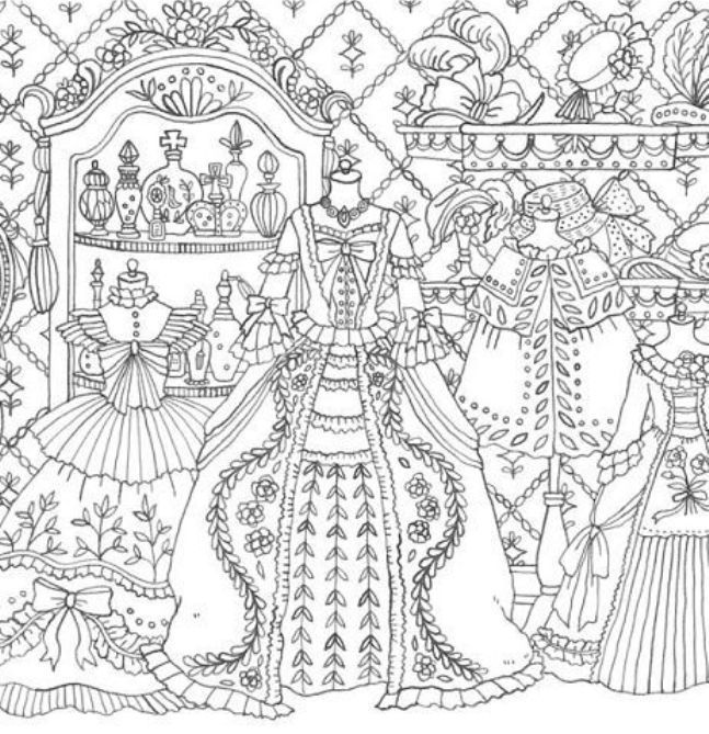 Romantic Country Coloring Book More · Adult Coloring PagesColoring ...