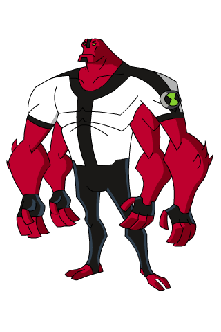 Four Arms Ben 10 Superheroes And 10 Omniverse