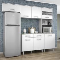 Cozinha Compacta Madine Moveis Lorena 5 Portas Com Imagens