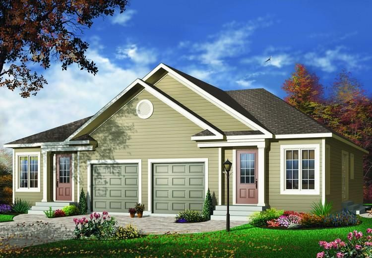 House Plan 03400947 1,852 Square Feet, 2 Bedrooms, 1
