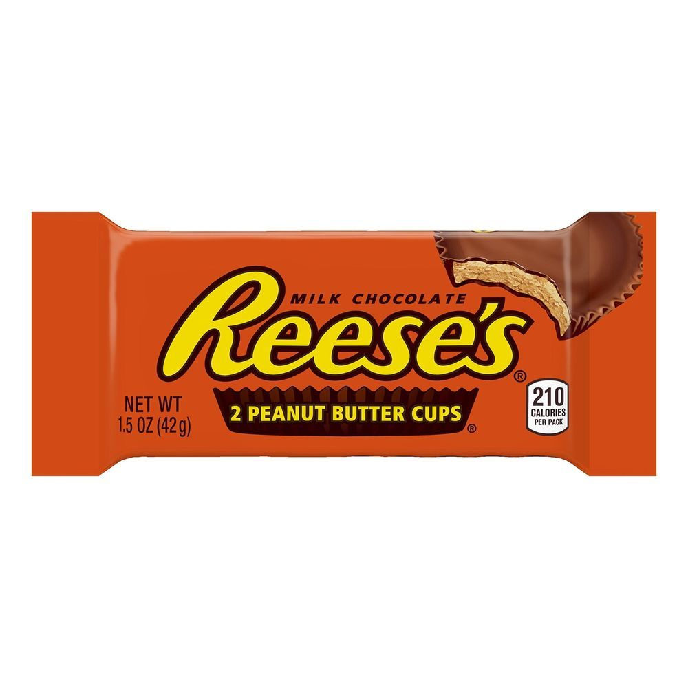 Reeseus peanut butter cup milk chocolate covered peanut butter cup