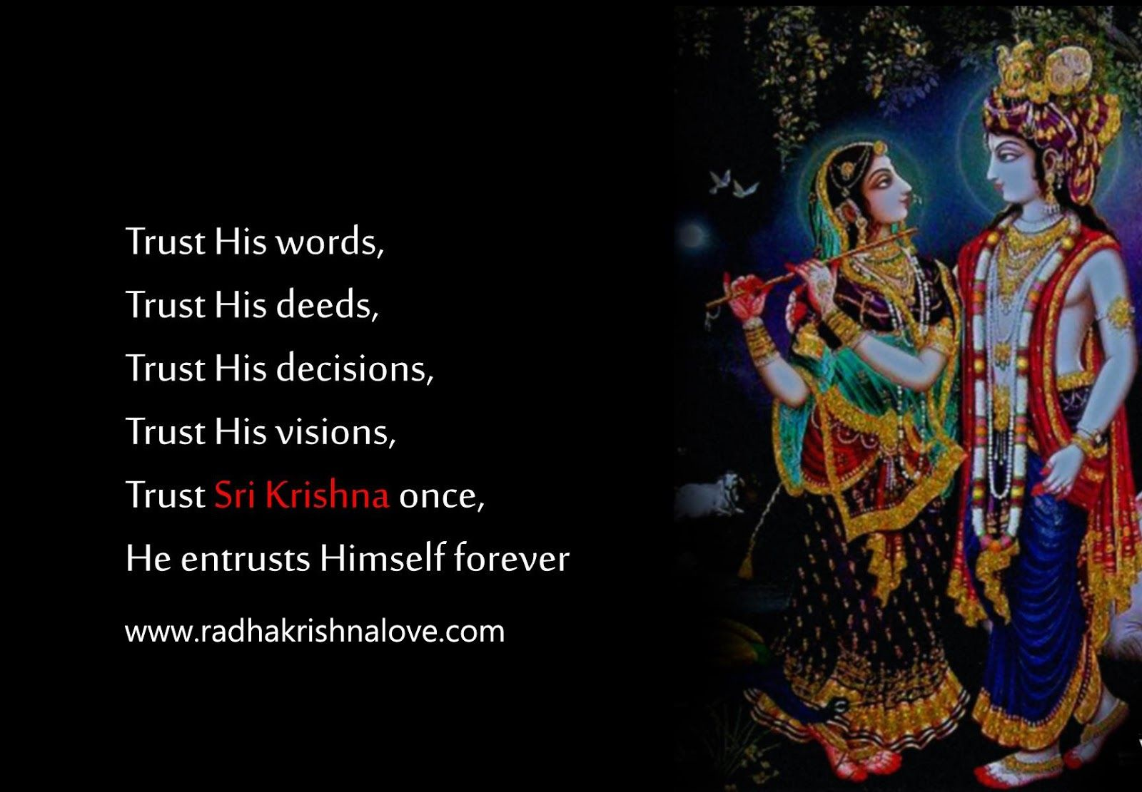 Radha Krishna Quotes On Love In English Radha Krishna Pinterest