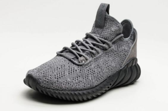 adidas Tubular Doom Sock Primeknit Grey