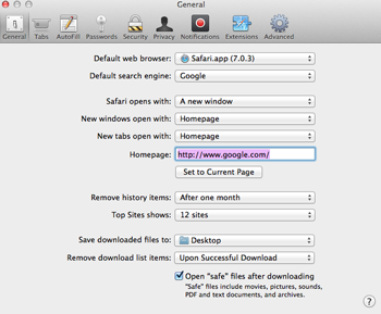 How To Change What You See In Safari More Tips At Www Mac2school Com Safari Web Browser Web Browser Pop Up Blocker