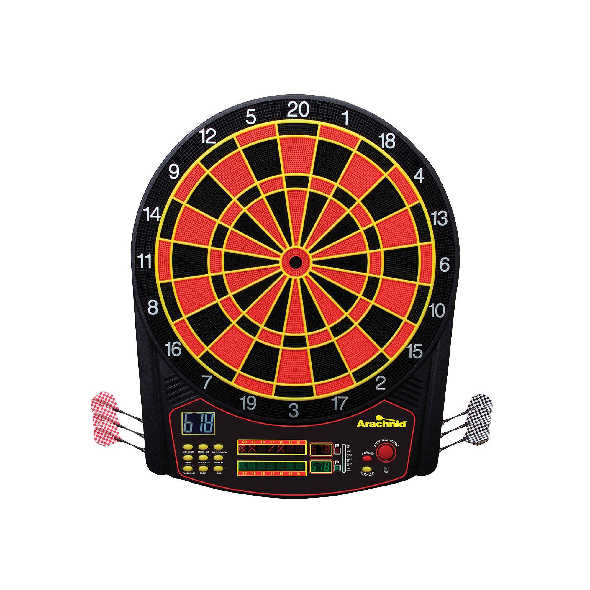 Arachnid Cricket Pro 450 Electronic Dartboard, Multicolor