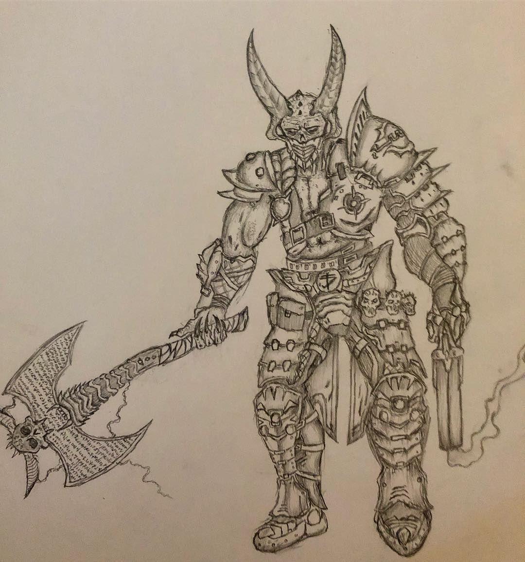 Ghim Tren Doom Slayer