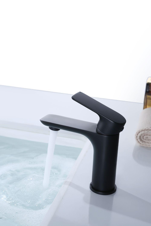All Black Bathroom Sink Faucet Black Faucet Made In China Factory Price Black Faucet Black Faucet Black Bathroom Sink Faucet
