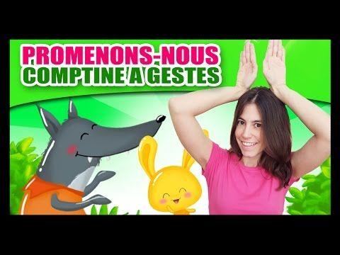 Promenons Nous Dans Les Bois Comptines A Gestes Pour Bebes Titounis Pre K Resources Language Youtube