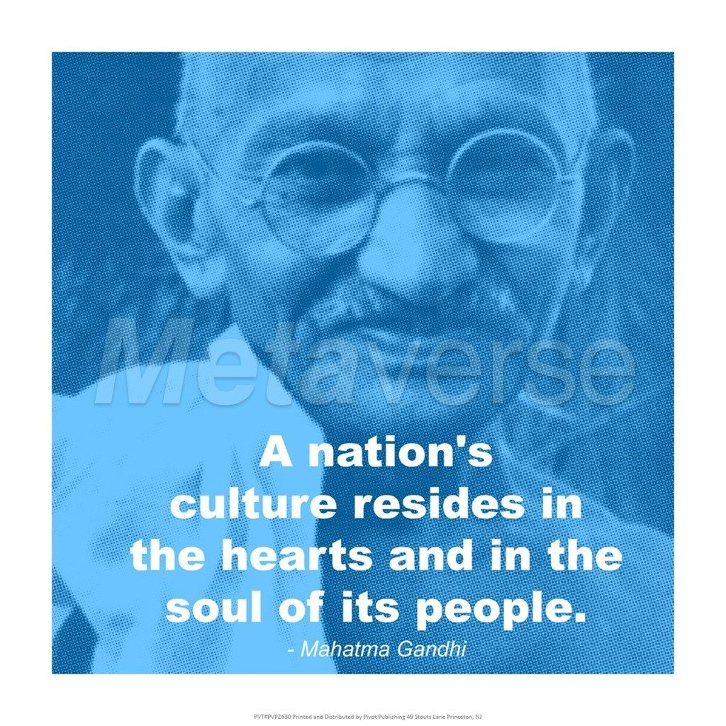 Brainy Quotes On Life With Pictures Ghandi Quotes Gandhi Nations Quote Art  At Brainy Quotescom Picture