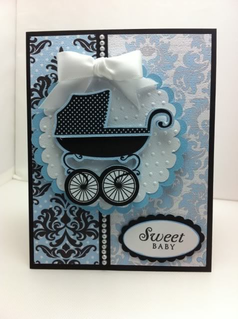 Theresa Collins Baby Boutique Cricut Imagine Cartridge Aline With Images Boutique Cards Baby Cards Handmade Baby Cards