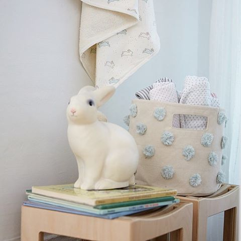 """Some """"bunny"""" is super adorable in this bunny nursery"""