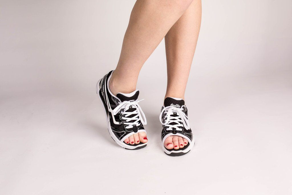 womens open toe athletic shoes