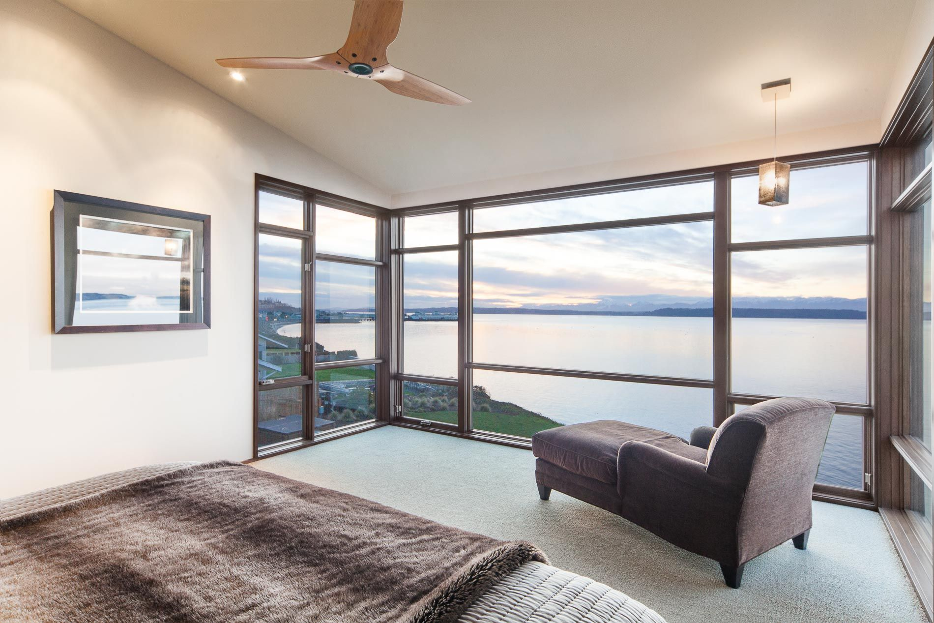 Master bedroom gypsum ceiling  Index  Sierra Pacific Windows  Residential Commercial