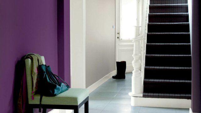 Déco entrée maison, cage du0027escalier et couloir en 32 idées - deco peinture entree couloir