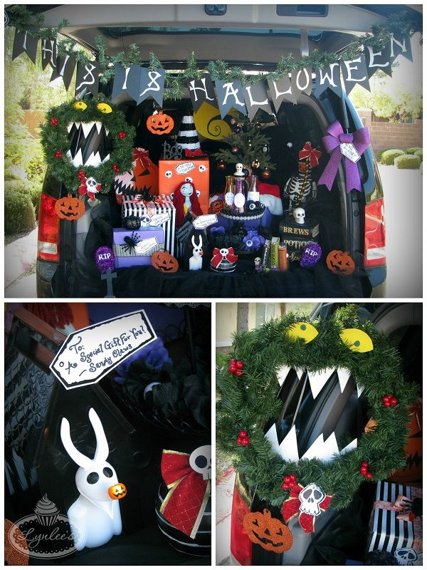 Nightmare before Christmas trunk or treat | Halloween | Pinterest ...