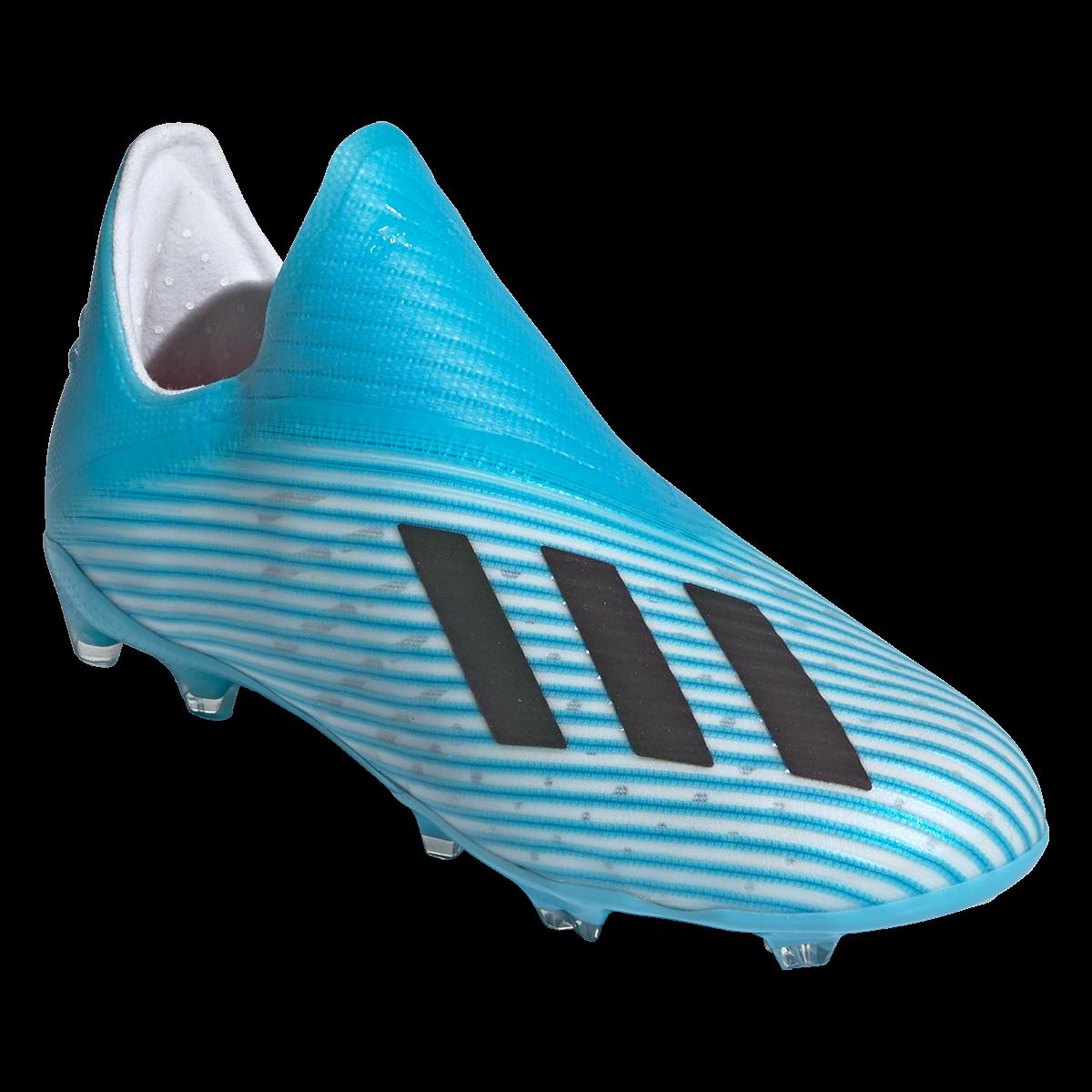 adidas X 19+ FG Junior Soccer Cleats CyanBlackPink