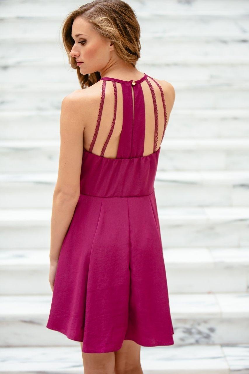 gilt gossamer - Cutout Back Halter Dress, (http://www ...