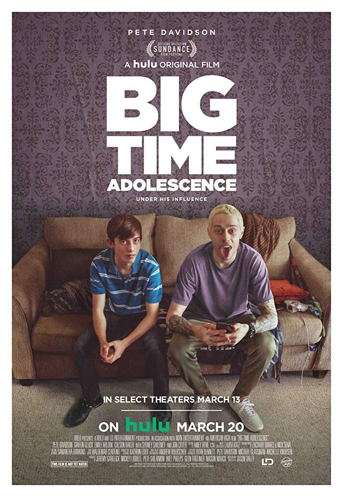 Big Time Adolescence 2019 A Suburban Teenager Comes Of Age Under The Destructive Guidance Of His Best Friend An Aim In 2020 Film Big Coming Of Age New Movie Posters