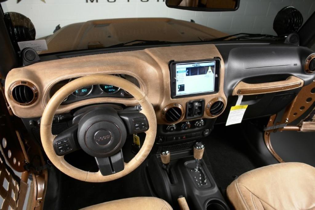 Jeep Wrangler Unlimited Custom Interior 247 4x4 And Jeep Stuff