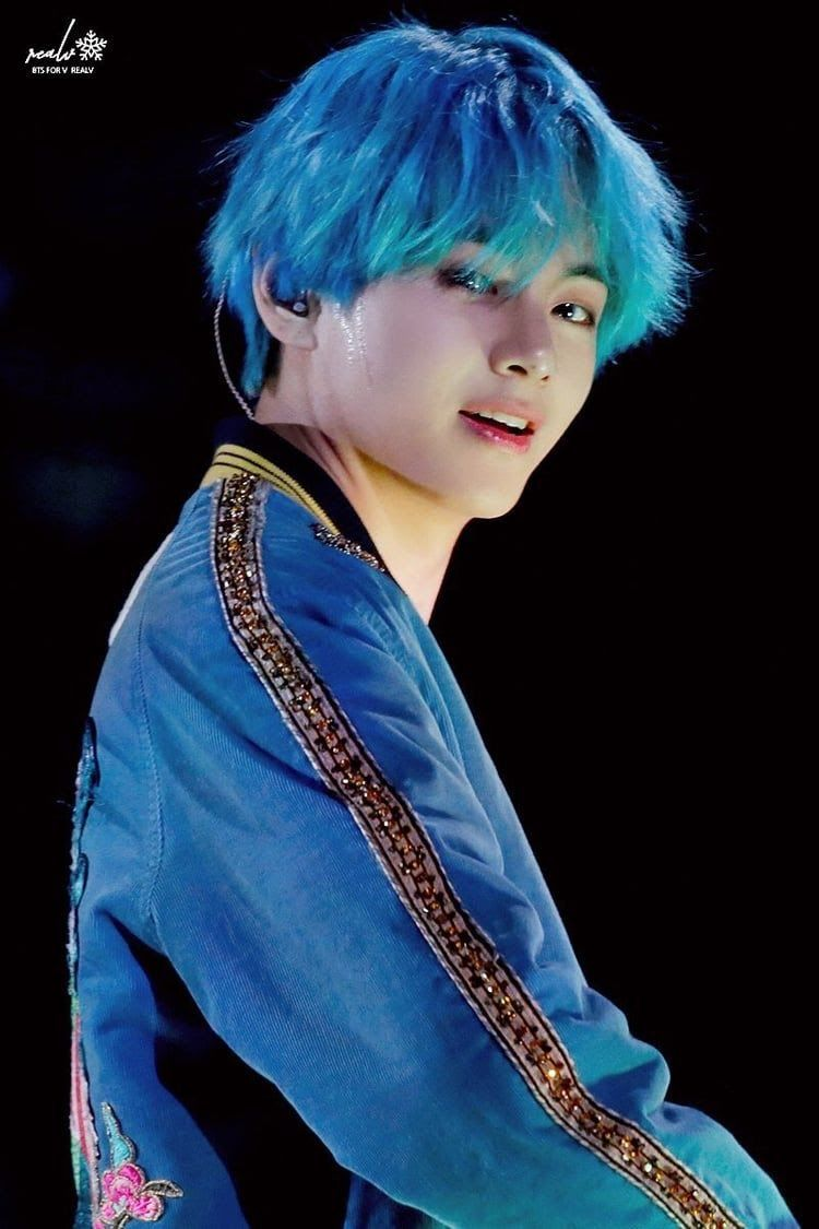 These Are The Top 25 Most Popular K Pop Idols Right Now Koreaboo Taehyung Kim Taehyung Blue Hair